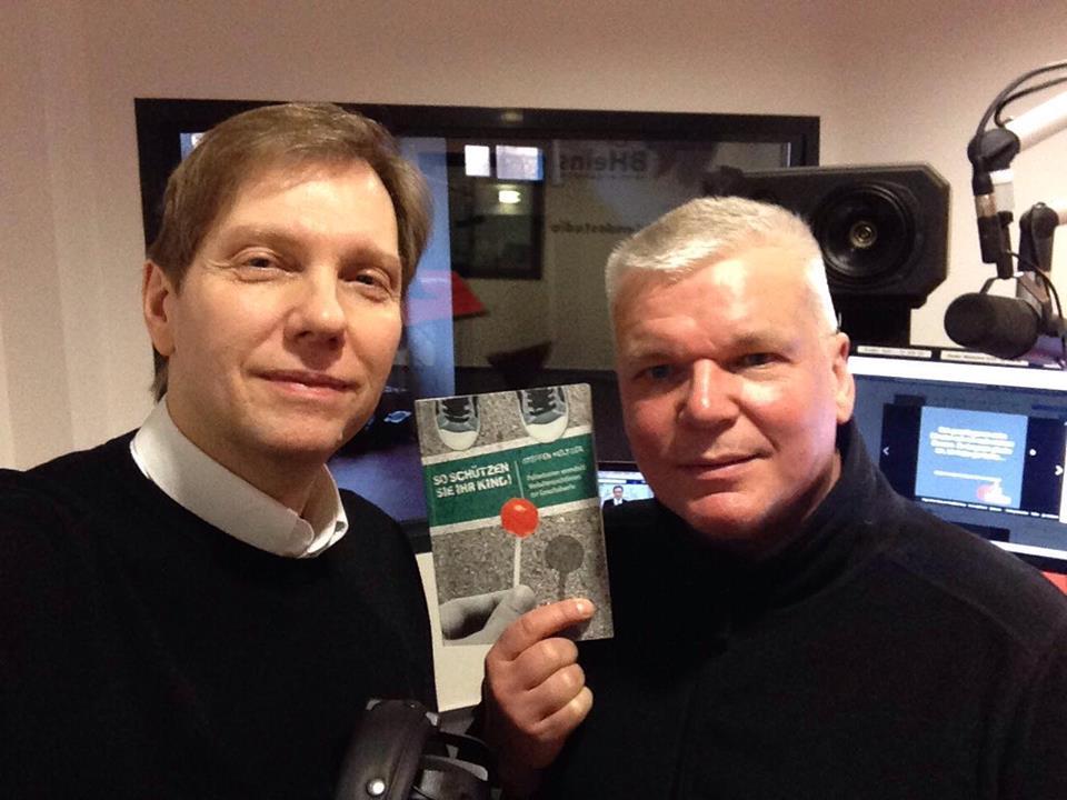 Mein Studiobesuch im Hitradio BHeins bei Andreas Dorfmann